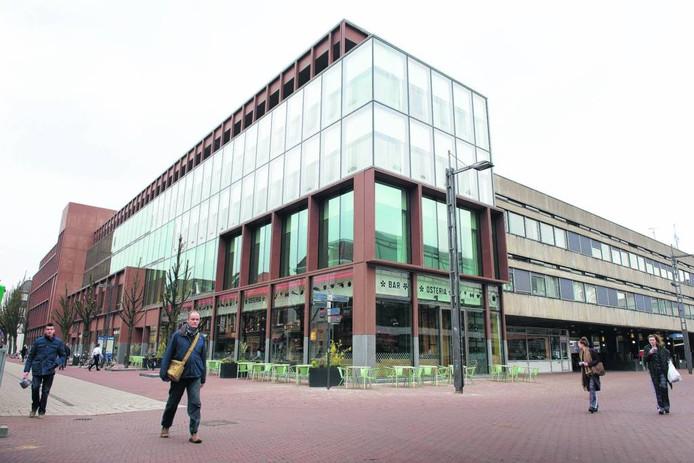 Building 026 op de hoek Koningstraat-Broerenstraat in Arnhem. Foto Marc Pluim
