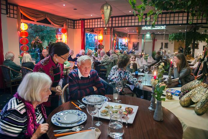 Ellen Willems at deze week voor Over de Tong bij de Chinees in Velp.