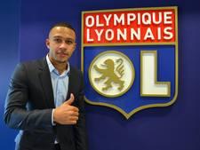 Memphis krijgt nummer 9 bij Olympique Lyon