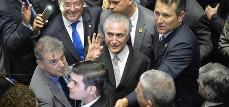 Braziliaanse president Temer kondigt 'nieuw tijdperk' aan