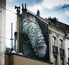 Brusselse penismuur verdwijnt na twee jaar uit het straatbeeld