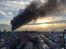 Vraagtekens bij inzet NL-Alert bij brand De Meern