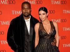 Kim houdt kinderen weg van instabiele Kanye