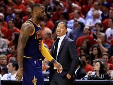 Succescoach Lue langer bij Cleveland Cavaliers