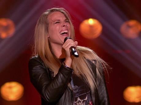 Idols-winnares Nikki gaat bij The Voice in de herkansing