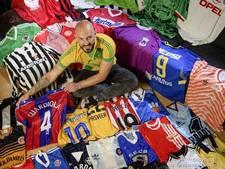 Tukker raakt tas vol met unieke voetbalshirts kwijt