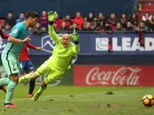 Teruglezen: Barça pas laat langs hekkensluiter