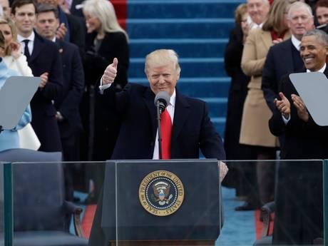 LIVE: 'Vanaf nu wordt het Amerika eerst'