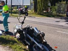 Motoragent gevleid door compliment slachtoffer ongeval