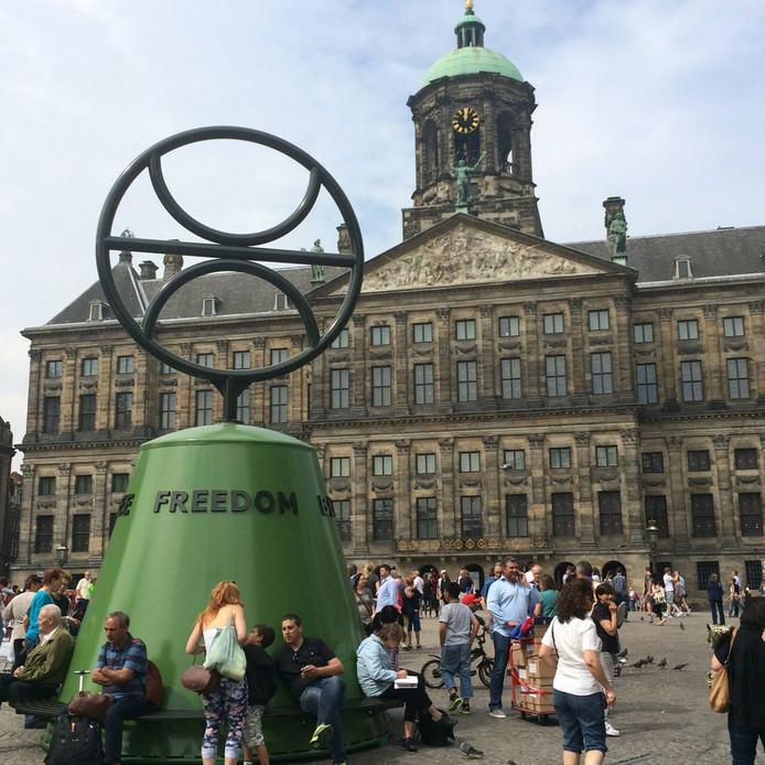 Het enorme vrijheidssymbool