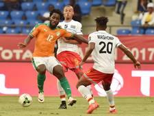 Ivoorkust ondanks goal Bony niet langs Congo