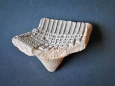 Gevonden scherf is een groot raadsel voor archeologen
