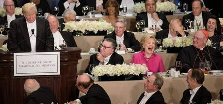 Benefietdiner Trump en Clinton: vijf anekdotes