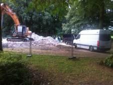 Menselijke resten gevonden tijdens sloopwerk Halsteren