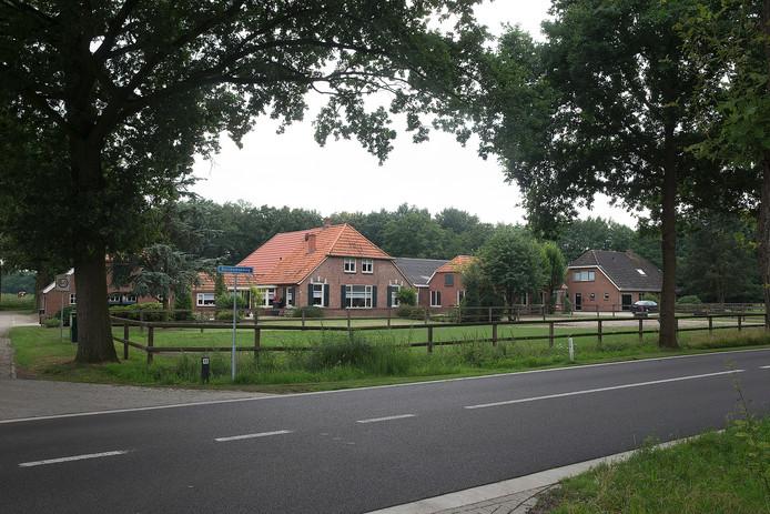De boerderij van Jan Markink in Borculo.