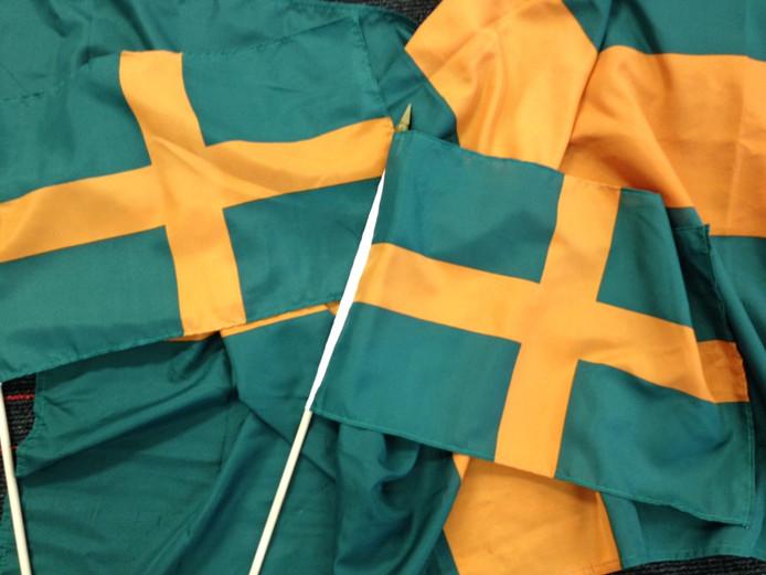 Vierdaagsevlaggen.