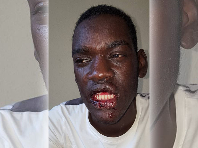 De 17-jarige James uit Almelo. Foto: Facebook Jean Paul Fred Makaza