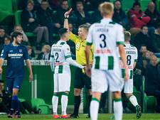 Davidson vrijuit na rode kaart tegen Heerenveen