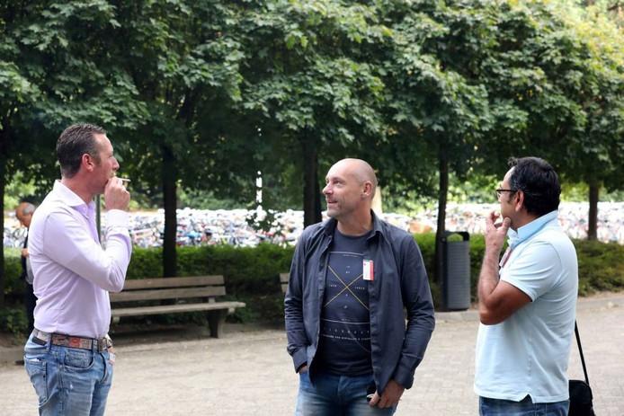 Rokers op de Radboud Universiteit.