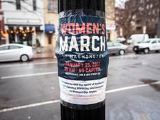 Loop voor vrouwenrechten op Malieveld door aantreden Trump