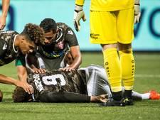 Zware blessure Arias werpt schaduw over eerste zege Dordrecht