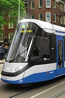 GVB toont foto's van de nieuwe trams