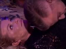 Afgetrainde Jim duikt op Bridget en Estavana's droom