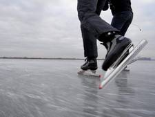 Schaatsen lukt niet in speeltuin Doornenburg
