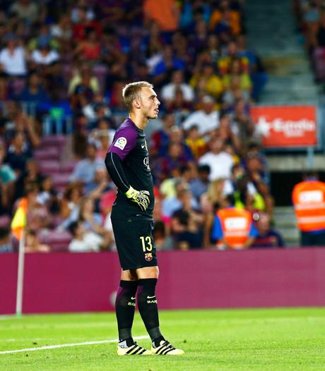 Cillessen hervat training bij Barça na enkelblessure