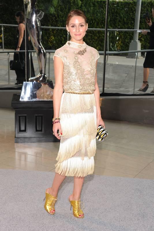 Olivia Palermo op de CFDA Awards.