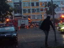Meubelstuk in brand in trappenhuis Overvecht
