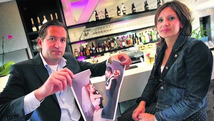 Jan Halfens en Louise van As helpen echtparen in een weekend met hun scheiding. FOTO COR DE KOCK