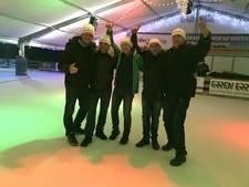 Witte IJspegels wint curlingcompetitie Duiven