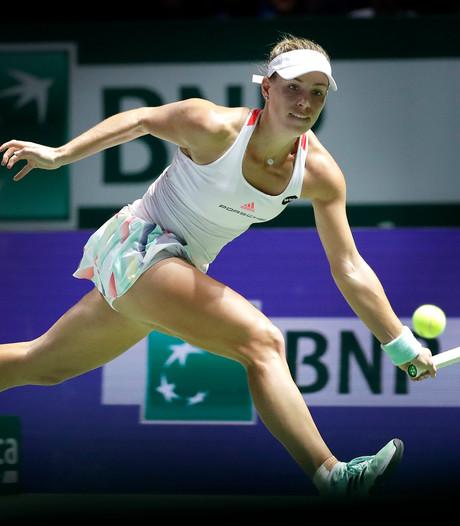Kerber wint ook van Halep bij WTA Finals