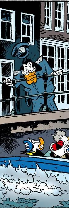 Bij Donald Duck gelden alleen kinderwetten