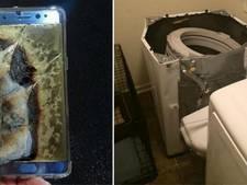 Na telefoons ontploffen nu ook wasmachines Samsung