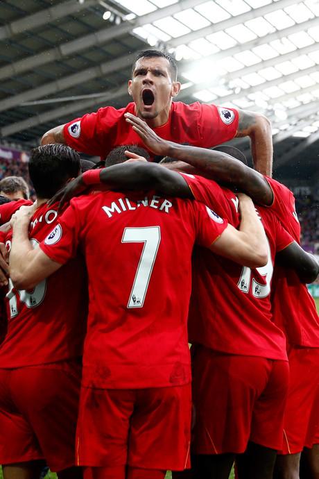 Goal Fer helpt Swansea niet tegen Liverpool