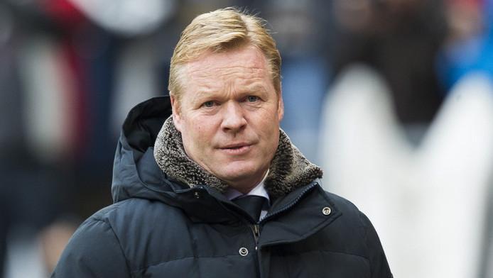 Ronald Koeman vertrekt in de zomer bij Feyenoord.
