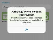 Rivierenland niet blij met afvalkalender op mobiel