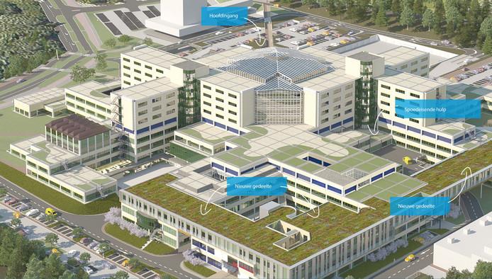 Nieuwbouw Rijnstate
