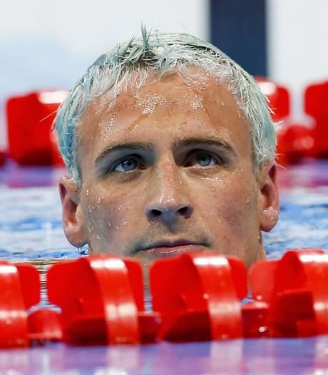 Zwemmer Lochte gedagvaard in Brazilië voor 'beroving'
