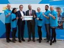 Gemeenteambtenaren doneren 19.000 euro aan Unicef