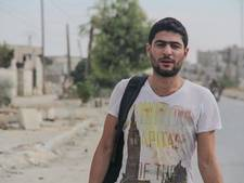 Bakri Ezziden trotseert bombardementen Aleppo