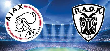 Ajax ontvangt PAOK in voorronde Champions League