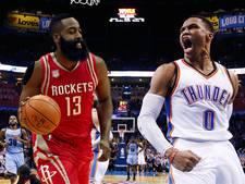 Westbrook en Harden, de koningen van de triple double