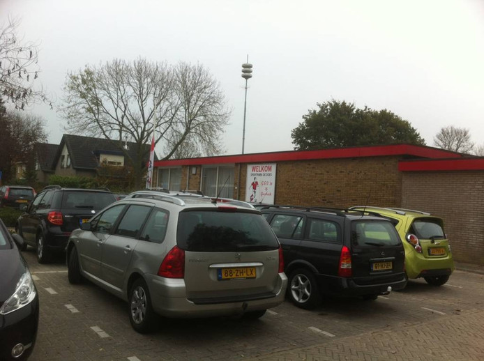 In de kantine van voetbalclub GSV'38 was zondagochtend een bijeenkomst voor Lars. Foto DG
