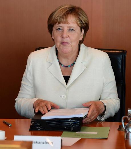 Helft Duitsers ziet vierde ambtstermijn voor Merkel niet zitten