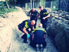 Politie schiet op verdachte na achtervolging Rotterdam