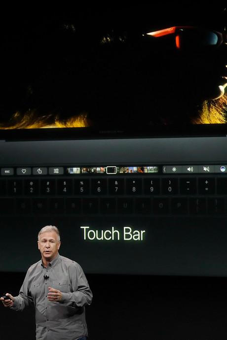 Apple showt dure MacBook Pro met aanraakscherm