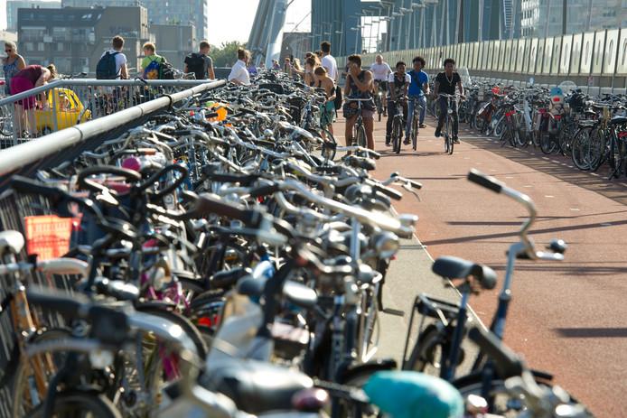 Massa's fietsen op de Snelbinder.